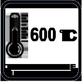 Температура на изхода на дюзата на II степен