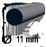 Diametru baton de silicon