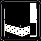 Gaurire maxima Ø in beton