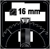 Diametrul discului interior
