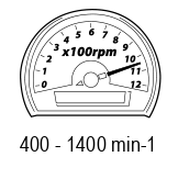 Turatie maxima in gol