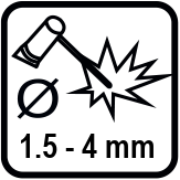 Диаметър на електрода